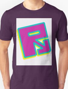 "Rusty ""Yellow Blue Purple"" T-Shirt"