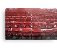 Stadium Seating Metal Print