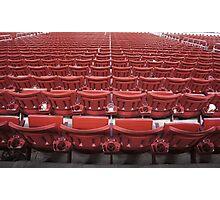Stadium Seating Photographic Print