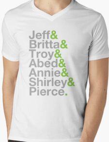 Community Jetset Mens V-Neck T-Shirt
