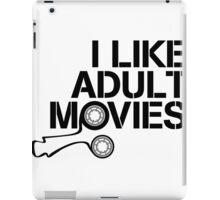 i like Adult Movies iPad Case/Skin