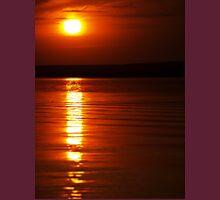Summer sunset on lake Unisex T-Shirt