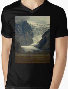 Iceland Glacier Mens V-Neck T-Shirt