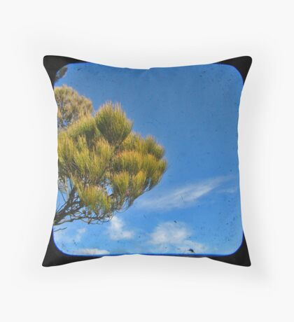 Blue 1 Throw Pillow