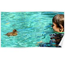 Duck Paddle Poster