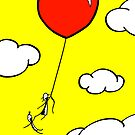 The Lof Balloon - two lof bees by Josh Bush