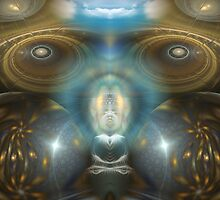 Expand The Mind by Craig Hitchens - Spiritual Digital Art