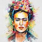 Frida Kahlo by Tracie Andrews