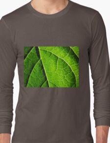 Green leaves produce oxygen Long Sleeve T-Shirt