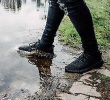 Yeezy Boost Splash by deauwp