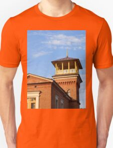 Beautiful house with a tower Unisex T-Shirt