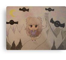 Chibi vampire Metal Print