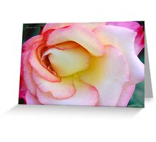 Innocent Blush Greeting Card