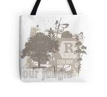 Tree Art Ecology Tote Bag