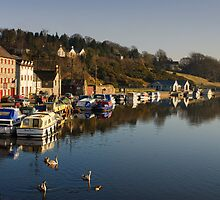 The Quay, Graiguenamanagh, County Kilkenny, Ireland by Andrew Jones