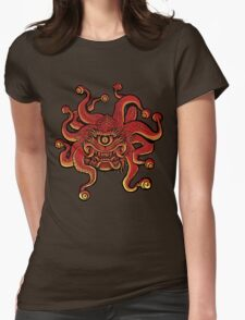 Beholder Womens Fitted T-Shirt