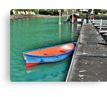 Dinghy, Whangaroa, Northland, New Zealand. Canvas Print
