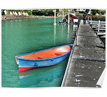 Dinghy, Whangaroa, Northland, New Zealand. Poster