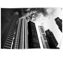 BUILDINGS city in the mood Poster