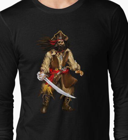 Talk Like A Pirate-Buccaneer Long Sleeve T-Shirt