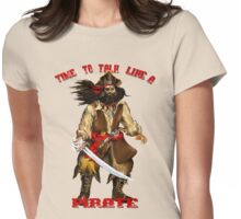 Time To Talk Like A Pirate Womens Fitted T-Shirt