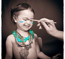 Facepaint is fun by Samantha Van Stralendorff