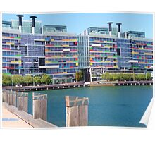 Waterfront apartments Poster