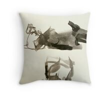 cow shapes Throw Pillow