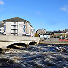 Corrib Flow into the Sea by JoeTravers