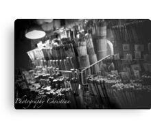 Signature Chopsticks Metal Print