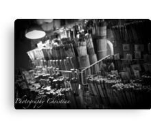 Signature Chopsticks Canvas Print