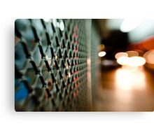 lattice@night Canvas Print
