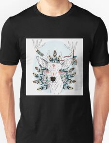 Deer with feathers T-Shirt