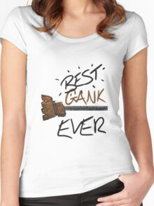 Blitzcrank Gank Women's Fitted Scoop T-Shirt