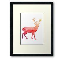 Stag antelope Framed Print