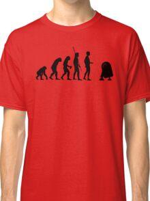 Evolution robot R2D2 Classic T-Shirt