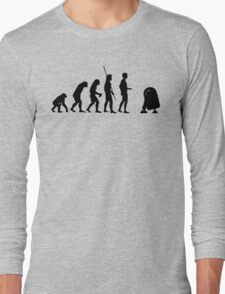 Evolution robot R2D2 Long Sleeve T-Shirt