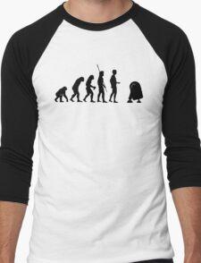 Evolution robot R2D2 Men's Baseball ¾ T-Shirt