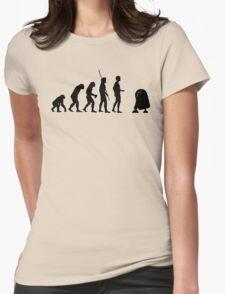 Evolution robot R2D2 Womens Fitted T-Shirt