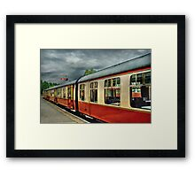 A Carriage Ride Framed Print
