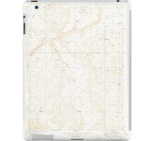 USGS Topo Map Oregon Downey Canyon 279685 1969 24000 iPad Case/Skin