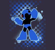 Super Smash Bros. Mega Man Silhouette T-Shirt