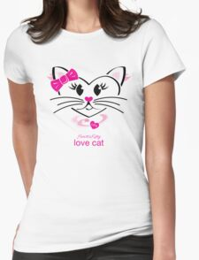HeartKitty Love-Cat T-Shirt