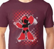 Super Smash Bros. Red Mega Man Silhouette Unisex T-Shirt