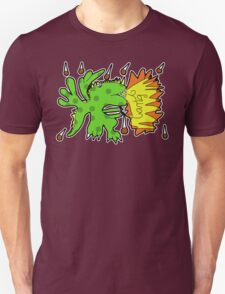 dragon in a meteor shower T-Shirt