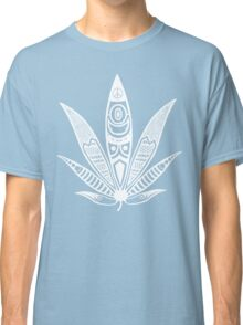 white psychedelic ganja  Classic T-Shirt
