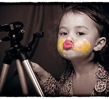 Rosalie Rock Star with Face Paint by Samantha Van Stralendorff