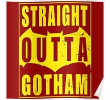 Batman Gotham Quote Poster