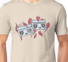 Crystals and Cassettes Unisex T-Shirt