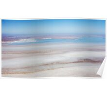 Blue Lagoon - Lake Eyre Poster